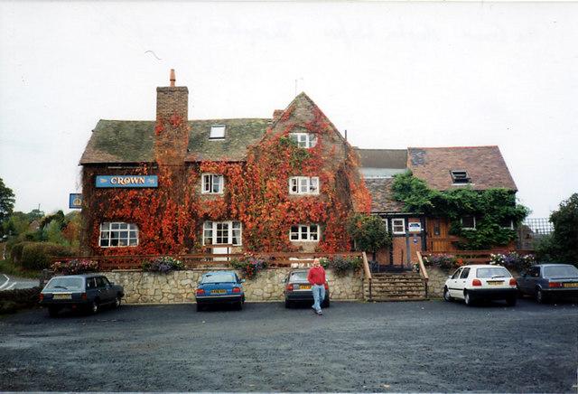 The Crown Inn, Hopton Wafers, Shropshire