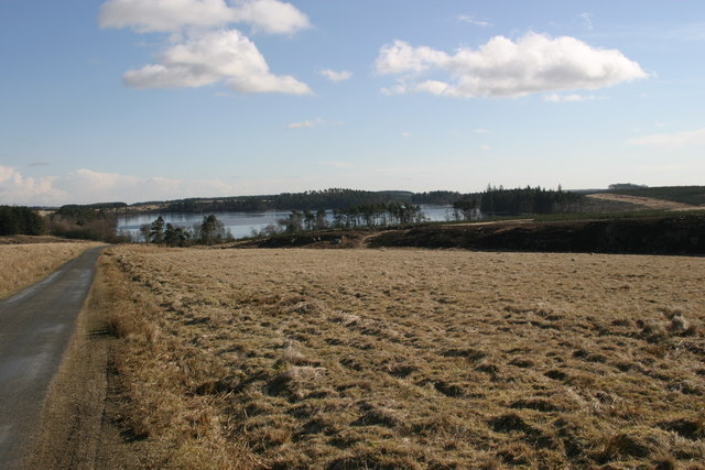 Long Crag and west end of Sweethope Lough