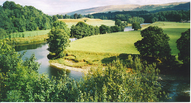 Ruskin's View - The Lune from Kirkby Lonsdale.