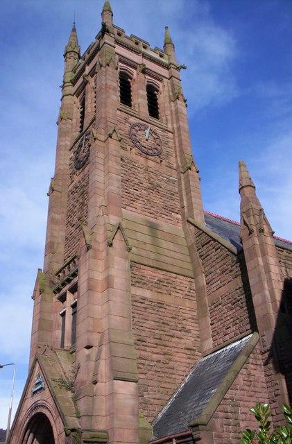 St Cyprian's church, Edge Hill