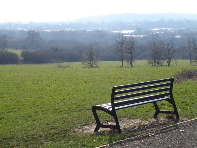 A view from the Arrow Valley Country Park at Ipsley