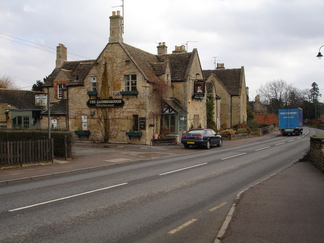 The Gainsborough public house in Uffington