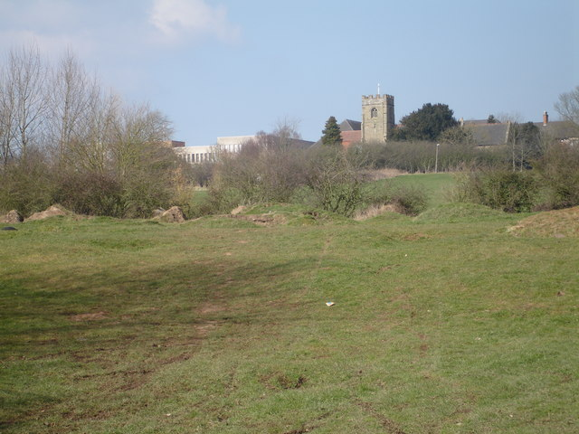 Ipsley Church from the Arrow Valley Country Park