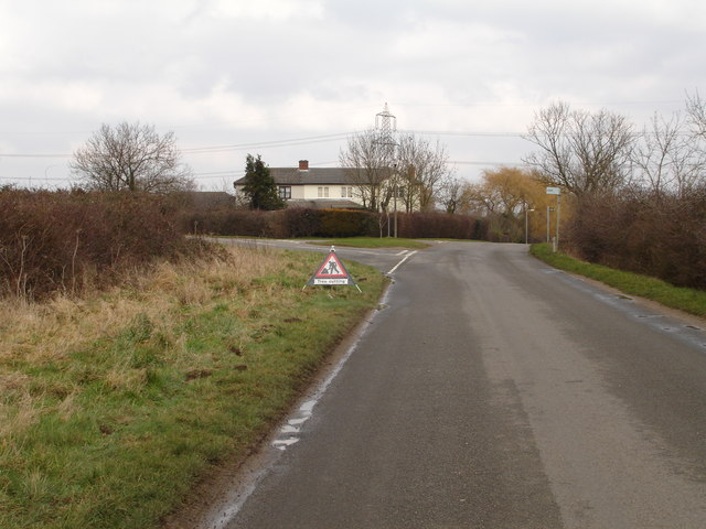Uffington to Greatford road near the turning for Essendine