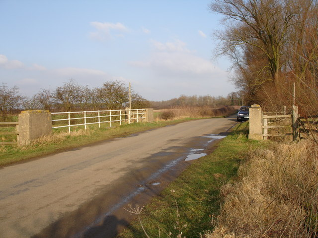 Bridge over Greatford Cut on Barholm to Stowe road