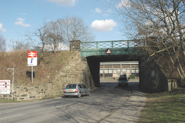 Railway bridge near Darton Station