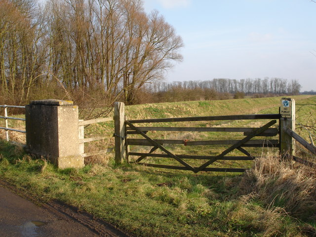 Greatford Cut, Barholm to Stowe road