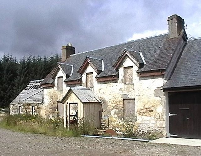 Old house at Glensgaich