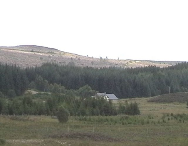 House at Glensgaich in context