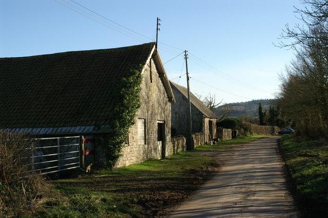 Farm Buildings at Dyche