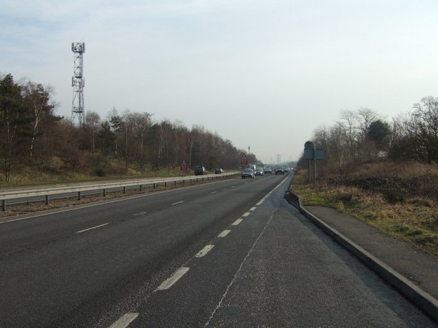 A317 Looking Towards the M25
