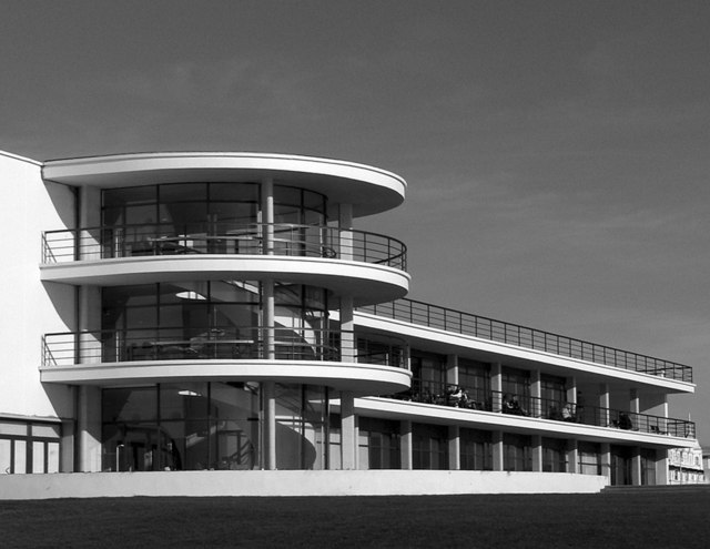 The De La Warr Pavilion, newly refurbished 2005.