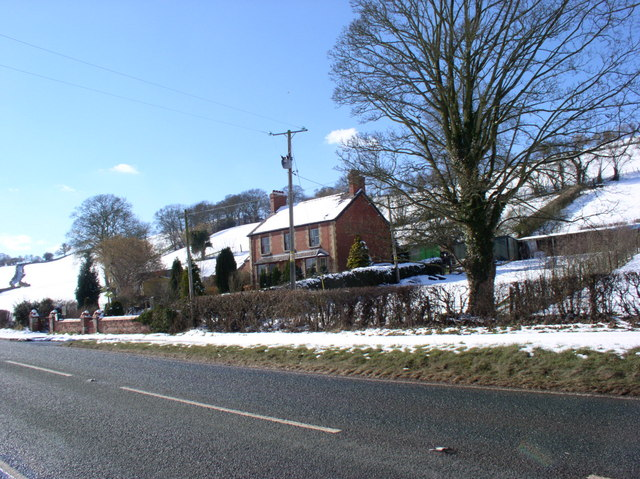 Smallholding near Pwllglas