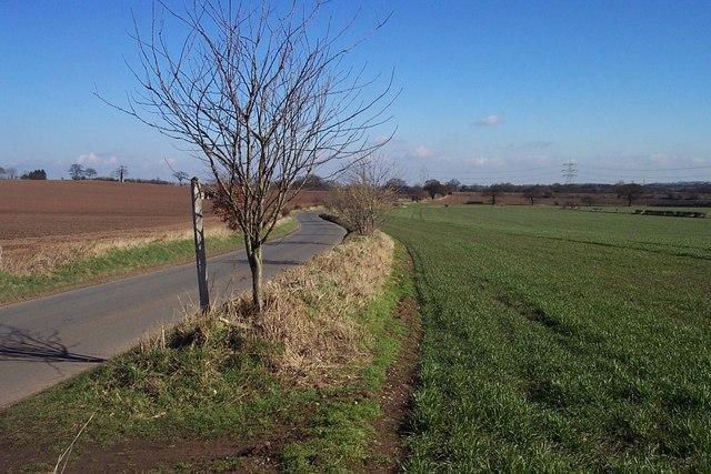 Lane near Wall