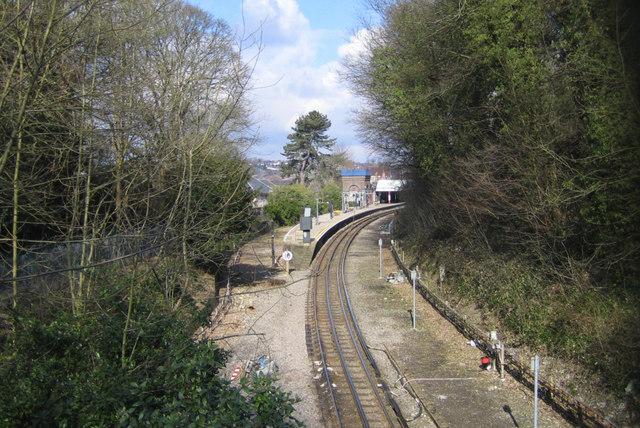 Metropolitan Line railway at Chesham