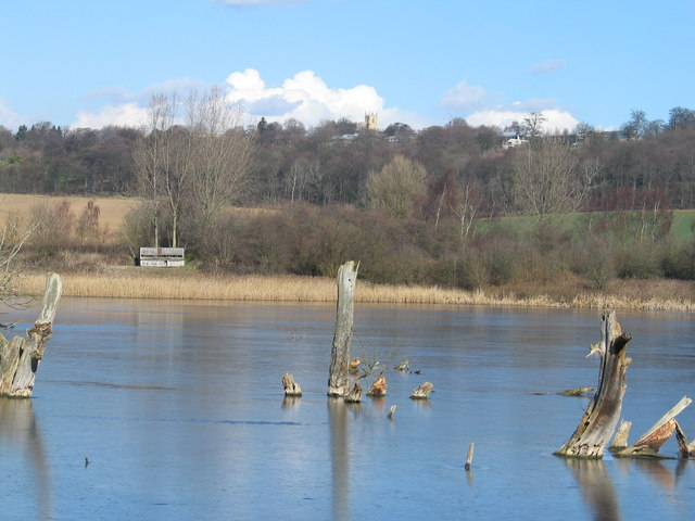 Denaby Ings looking towards High Melton