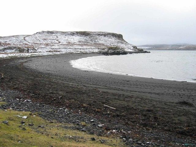 Bay on Loch Snizort Beag