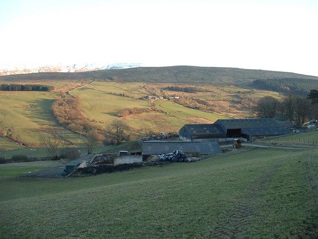Hafod Ifan Farm, near Ysbyty Ifan