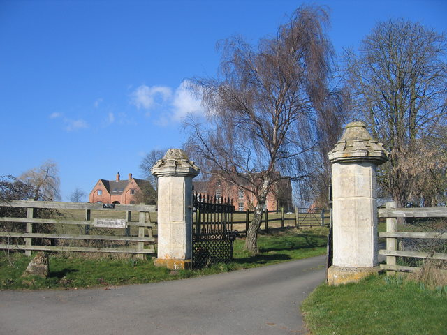Gateway to Bevington Hall