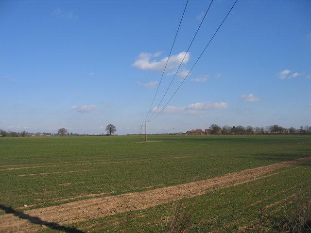 View towards Cock Bevington