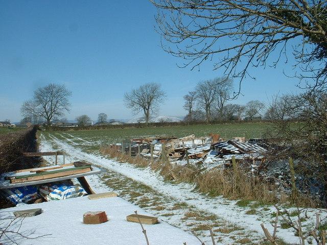 Farm Junk near Grimsargh Reservoirs