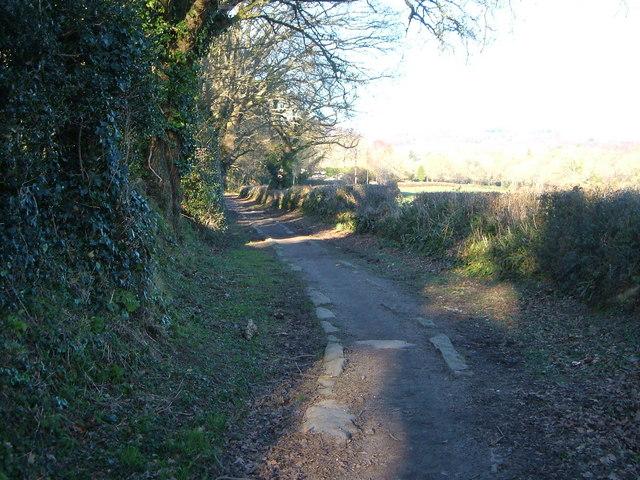 Haytor Granite Tramway near Bovey Tracey