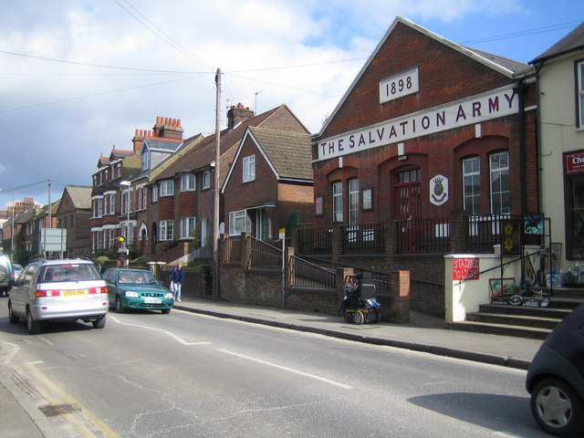 Chesham: The Salvation Army Hall, Broad Street