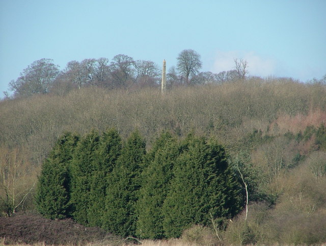 Obelisk at Farnborough Hall