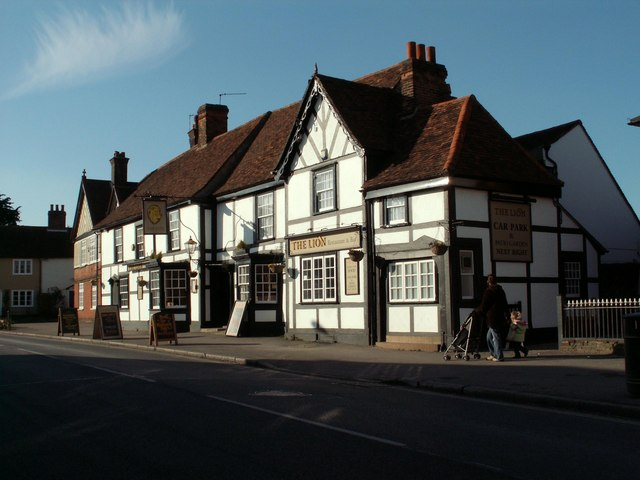 The Lion, public house, Earls Colne, Essex