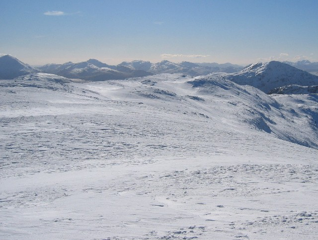 Southern ridge of Beinn Heasgarnich