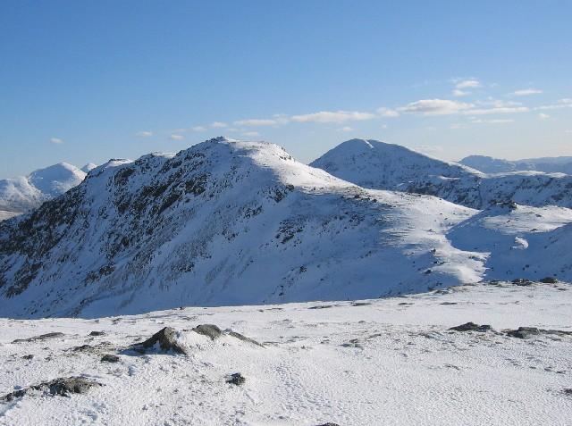 Stob nan Clach (southern ridge of Creag Mhor)
