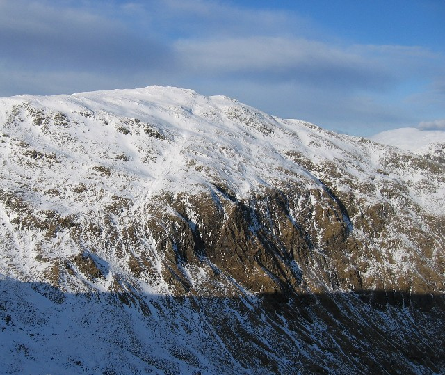 Southern cliffs of Creag Mhor.