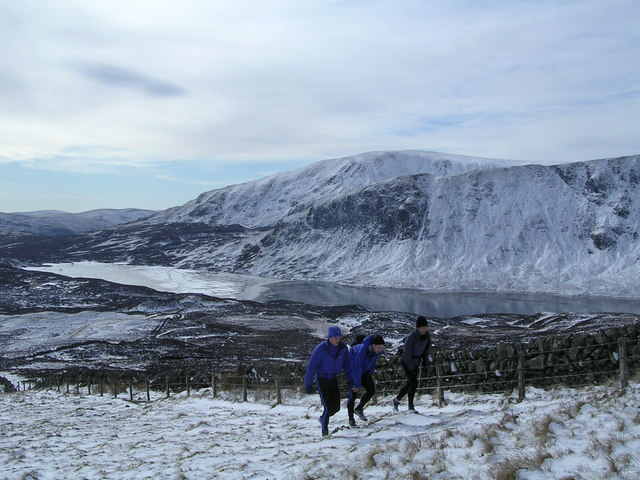 East slope of Lochcraig Head