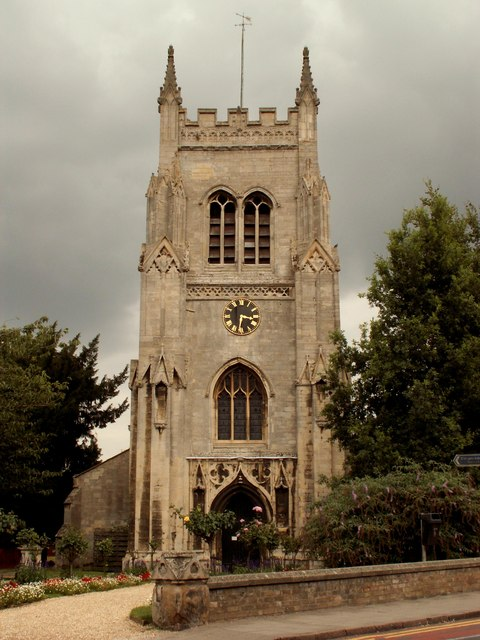 St. Mary's church, Huntingdon, Cambs.