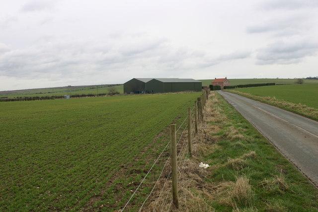 Towards Glebe Cottage - near Thwing