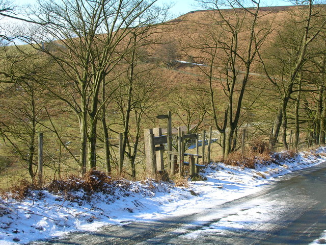 Stile and Footpath sign