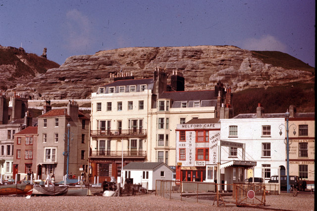 Hastings Seafront c1964