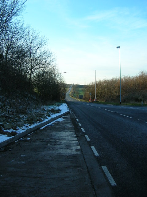 Doncaster Road A639 near Barnsdale Bar