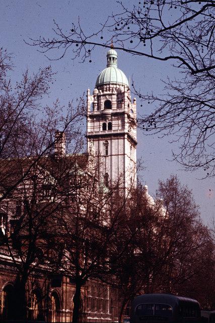 Imperial Institute Tower c1960