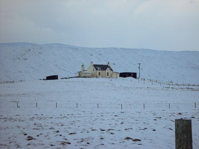'Half Way House', Sand Water, Shetland