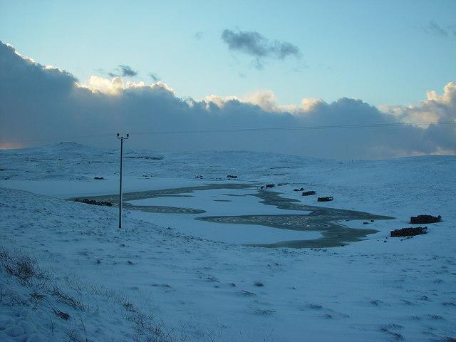 Nuckro Water, Whalsay, Shetland