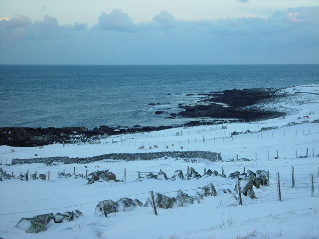 'The Noost' at Nisthouse, Isbister, Whalsay, Shetland