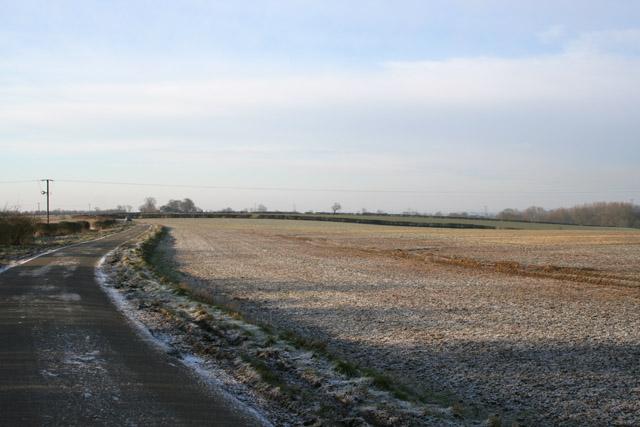 Farmland near Watnaby,Leicestershire