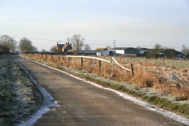 Glebe Farm near Saxelbye, Leicestershire