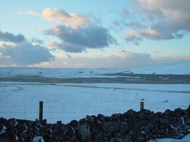 Isbister Loch, Whalsay, Shetland
