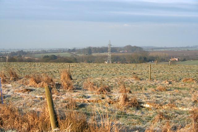 Farmland near Saxelbye, Leicestershire