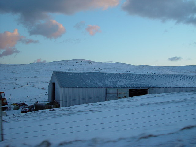 Agricultural Building, near Brough, Whalsay, Shetland
