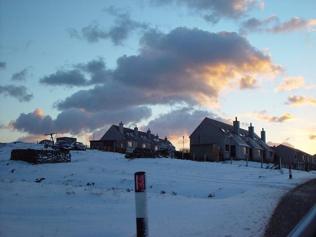 Council Houses, Tripwell, Whalsay, Shetland