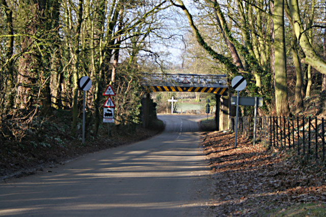 Railway Bridge, Saxelbye, Leicestershire