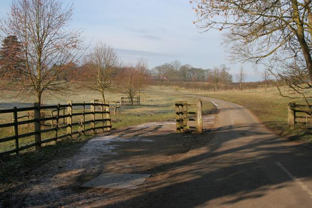 Entrance to Saxelbye Park